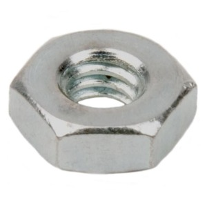 Dottie HN632 Machine Screw Nut, 6-32, Steel