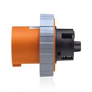 Leviton 4100B12W 100 Amp, 125/250 Volt Inlet, Watertight