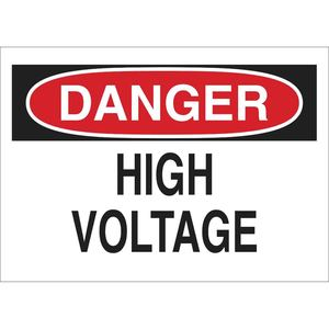 25533 ELECTRICAL HAZARD SIGN