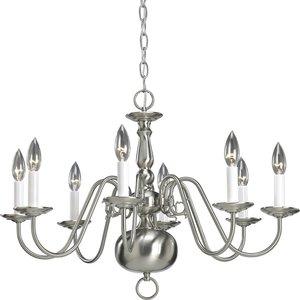 Progress Lighting P4357-09 8-Lt. chandelier