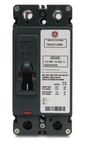 ABB TMQA2110 Breaker, Tenant Main, 110A, 65kAIC, 120/240VAC, Meter Mod III