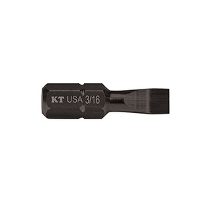 Klein SL31615 Slotted Insert Power Driver, 3/16 x 1""