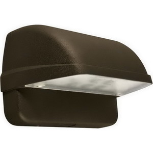 Hubbell-Outdoor Lighting LNC-5LU-5K Wallpack, LED, 5 Light, 12.6W, 120-277V, Bronze