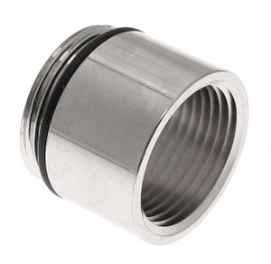 "Mencom PG21-3/4 MENCOM PG21-3/4 ADAPTER PG21 MALE THREAD TO 3/4"" NPT FEMALE THREAD"