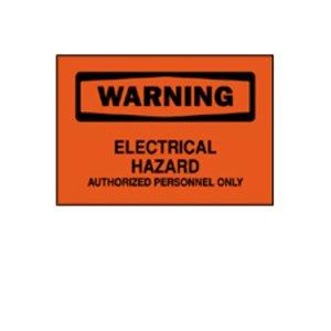 Brady 84198 Electrical Hazard Sign