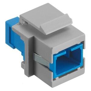 Hubbell-Premise SFFSCG FIBER, SNAP-FIT,FLUSH,SC SMPLX,P-BZ,GY