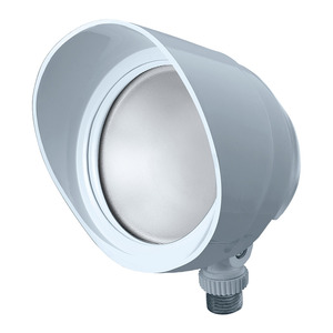 RAB BULLET12W Flood Light, LED, 1-Light, 12W, 120V, White