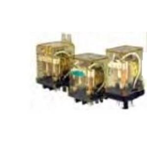 IDEC RR2P-UAC24V Relay, Ice Cube, 8-Pin, 10A, 2PDT, 24VAC Coil