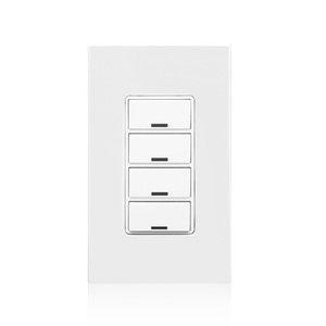 Leviton RLVSW-4LW Decora® Lighting Controller