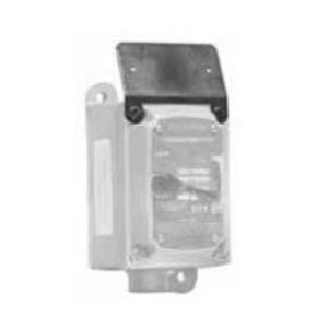 Appleton NPBRKTEFDB Nameplate Mounting Bracket, Silver/Black, for EFDB Series