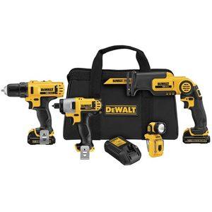 DEWALT DCK413S2 Cordless Tool Kit, 12V