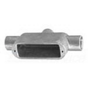 "Appleton TB59 Conduit Body, Type: TB, Mark 9, Size: 1-1/2"", Aluminum"