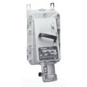 Appleton EBRH6034DS Receptacle w/Disconnect Switch, 60A, 600V, 4P3W