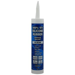 Dottie RTV10 Clear RTV Silicon Sealant - 10oz Cartridge