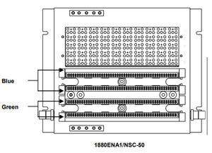 Circa Telecom 1880ENA1/NSC-200 200PR 110IN/OUT NO CVR/NO SPLICE
