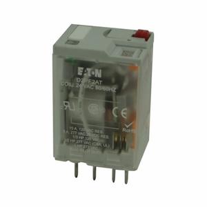 Eaton D2PF2AR1 Dpdt Relay - 12 Vdc Coil