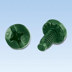 Panduit RGTBSM6G-C Bonding Screw, Green