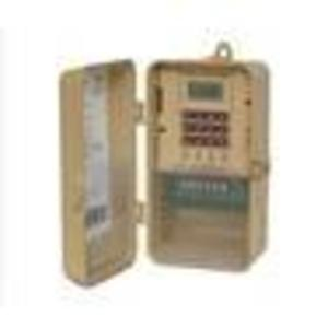 NSI Tork DTS400B Time Switch, 365/7 Day, SPDT, 4 Channel, NEMA 3R, 30A, 120-277VAC