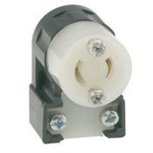 Leviton ML2-AC Angle Conn Black