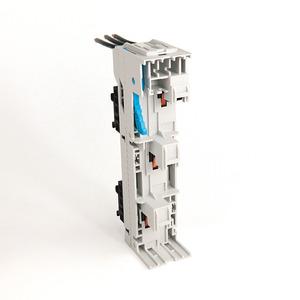 Allen-Bradley 141A-SS45RR25M Busbar Adaptor Module, Isolating, 25A, 45mm W,200mm L, 2 Top Rails