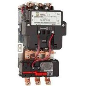 Square D 8536SCG3V02S Starter, Size 1, 27A, 600VAC, 120VAC Coil, Non-Reversing, 3P
