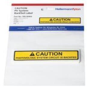 HellermannTyton 596-00666 PV System Backfed