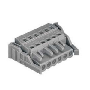 Wago 51116901 Rectangular Connector, Female, MIDI, 24P, Locking Lever, Gray