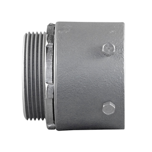 "Appleton SNTC-350 3-1/2"" Set Screw Connectors. Steel/Malleable, Concrete Tight When Taped"