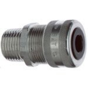 "Thomas & Betts 2931AL Cord Connector, Liquidtight, Straight, 3/4"", Aluminum"