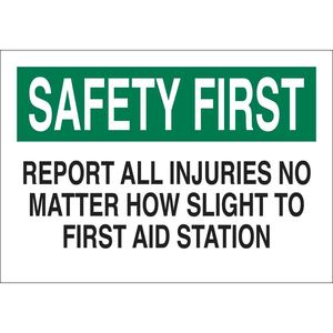 22652 FIRST AID SIGN