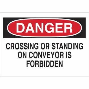 25615 FALL PROTECTION SIGN
