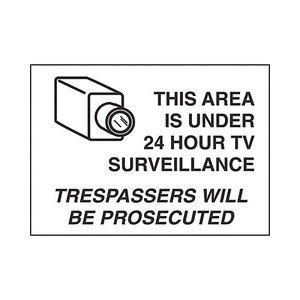 Brady 95424 Security Sign