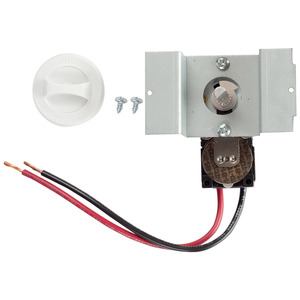 Cadet UCT1W Perfectoe Thermostat Kit, White. Single Pole.