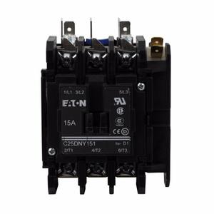 Eaton C25DNY130 30A, 3P, Definite Purpose Contactor
