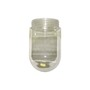 GL100 008507 CLEAR GLASS ROUND 100W