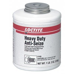 Loctite 209758 Anti-Seize Non-Curing Lubricant, 1lb 2oz, Brush Top