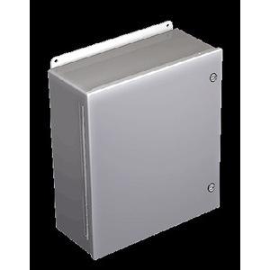 A16106CHFL BOX 16X10X6 HINGE NEMA4.12