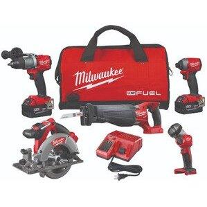 Milwaukee 2997-25 M18™ Fuel 5 Tool Combo Kit