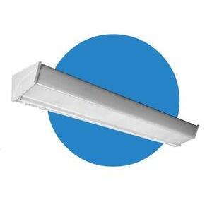 Hubbell-Columbia Lighting SA4-232-EU-EL Side Mount Fixture, 4', 2-Lamp, T8, 120/277V, 32W