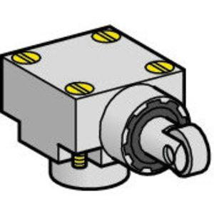 Square D ZCKE65 Limit Switch, Side Steel Roller Plunger, Vertical, Low Temperature