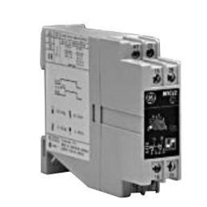 GE NMTCV2 Timing Relay, On Delay, 6A, 2P, Selectable, 24 - 240V AC/DC