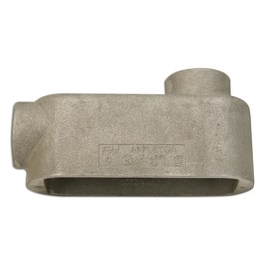 "Appleton LB49 Conduit Body, Type LB, Size: 1-1/4"", Form 9, Aluminum"