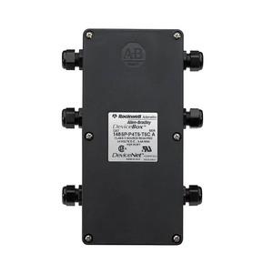 Allen-Bradley 1485P-P2T5-T5C DeviceBox, 2 Port, Tap, Cable Gland Connection, Thin