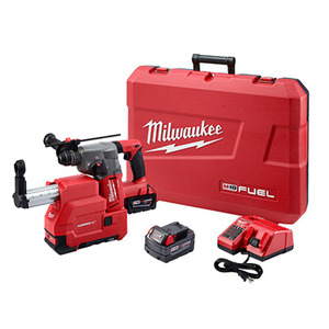 "Milwaukee 2712-22DE M18™™ Fuel 1"" SDS Plus Rotary Hammer W/ DE Kit"