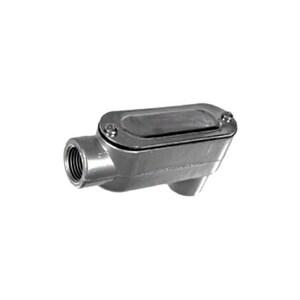 """Topaz LB10CG Conduit Body, Type: LB, Size: 4"""", Cover/Gasket, Aluminum"""
