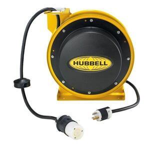 Hubbell-Wiring Kellems HBL45123TL20 CORD REEL W/HBL2313 45FT 12/3