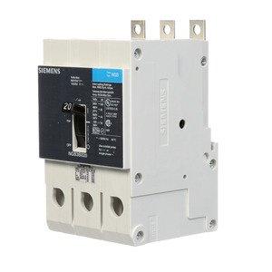 Siemens NGB3B020B BRKR NGB 20A 3P 480Y 25K LD LUG