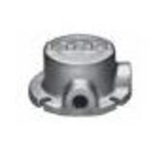 "Appleton GRFL50 Counduit Outlet Box, Flanged, GRF Series, (2) 1/2"" Hubs"