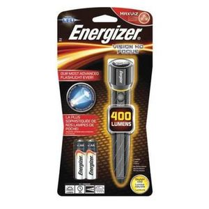 Energizer EPMZH21E LED Handheld Flashlight, AA Batteries, Tactical Grade, 400 Lumens