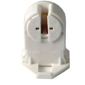 Damar 29197A Lampholder, Mini Bi-Pin, T4/T5 Rotary Socket, G5, White